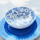 Light Blue Hydrangea Cereal Bowl