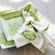Light Green Hydrangea Napkins, Set of 4
