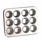 Miniature-Muffin Pan, 12-count