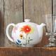 Botanical Ceramics Teapot, 22 oz.