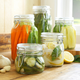 Bormioli Italian Canning Jars with Airtight Clamp Lids