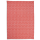 Salmon Mosaic Jacquard Kitchen Towel, 28