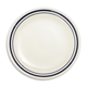 Sainte-Germaine Blue Salad Plate
