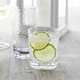 Hammered-Acrylic Double Old Fashioned Glasses, Set of 4