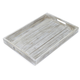 Whitewashed-Wood Serving Tray