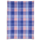French Blue Madras Kitchen Towel, 28