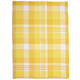 Yellow Madras Kitchen Towel