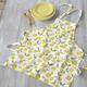 Lemon Printed Apron