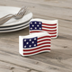 American Flag Salt and Pepper Shakers