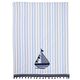 Sailboat Vintage-Inspired Kitchen Towel, 28