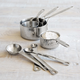 Sur La Table Stainless Steel Measuring Cups and Spoons