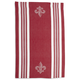 Fleur De Lys Jacquard Kitchen Towel