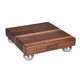 John Boos & Co. Edge-Grain Square Footed Walnut Cutting Board