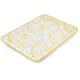 Lemon Melamine Serving Platter, 19½