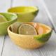 Figural Orange Pinch Bowl