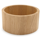 Individual Oak Serve Bowl