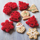 Chicago Metallic® Christmas Press Cookie Cutter Set