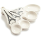 Eiffel Tower Ceramic Measuring Spoons, Set of 4