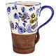 Handmade Italian Floral Pitcher