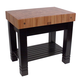 John Boos & Co. Le Rustica Cherry Block Table, 36