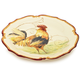 Round Rooster Platter