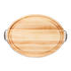 John Boos & Co.® Oval Edge-Grain Maple Cutting Boards