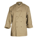 Chef Works Basic Khaki Chef Coats