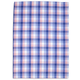 French Blue-Checkered Kitchen Towel