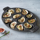Sur La Table Cast Iron Oyster Pan, 12 Cavity