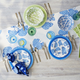 Blue Hydrangea Table Runner