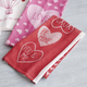 Valentine Love Jacquard Kitchen Towel