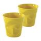 Revol Espresso Crinkle Cups, Set of 2