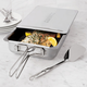 Stainless Steel Stovetop Smoker