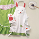 Children's Bunny Apron and Oven Mitt Set