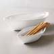 Porcelain Boat Serving Bowls, Set of 3