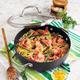Sur La Table® Hard Anodized Nonstick Chef's Pan, 4 qt.