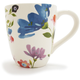 Botanical Ceramics Blue Mug, 14 oz.