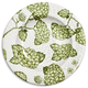 Light Green Hydrangea Round Salad Plate
