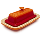 Le Creuset Flame Butter Dish