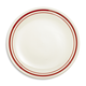 Sainte-Germaine Red Salad Plate