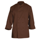 Chef Works Basic Chocolate Chef Coat, Small
