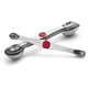 Progressive PL8 Stainless Steel Magnetic Measuring Spoons