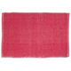 Red Coastal Kitchen Rug