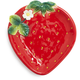 Strawberry Shaped Plate