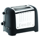 Dualit® Lite Black 2-Slice Soft-Touch Toaster