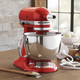 KitchenAid® Empire-Red Artisan Stand Mixer, 5 qt.