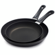 Scanpan® Classic Skillets, Set of 2