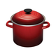 Le Creuset Enameled Steel Stockpot, 6 qt.