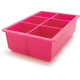 Tovolo King Cube Ice Tray, Pink