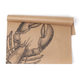 Lobster on Kraft Paper Placemats, Set of 25